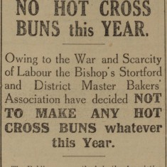 Announcement by Glasscocks  | Herts & Essex Observer, 1916