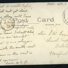 Claypits Farm postcard reverse side | BISHM 459.1