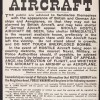 Air raid warnings