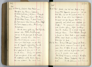 Diary of Norman Gasper, Oct1915  | Privately Held