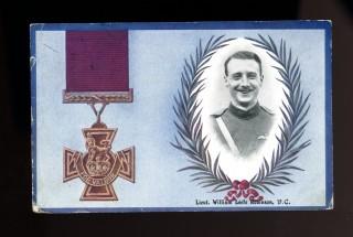 Commemorative postcard, William Leefe-Robinson VC 1916 | BSM 611