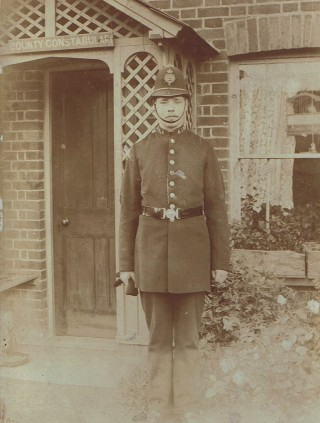 Pc George Hart 176 at Stevenage c 1903 | Herts Police Historical Society