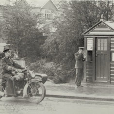 St Albans City Police Box 1950s | Herts Constabulary