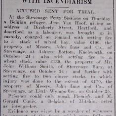 Friend or Foe? Slide Show | Hertfordshire Mercury, 06 Nov 1915