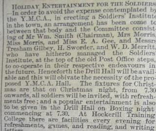 Christmas Entertainments December 1914 | Herts and Essex Observer