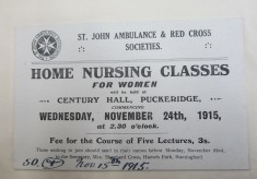 Nursing on the Home Front