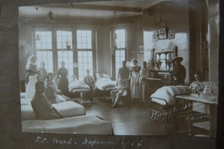 Napsbury Hospital interior, 1916 | HALS Ref DE/X 1030