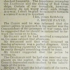 A screen to hide the PoWs | Herts and Essex Observer, Jul 1918