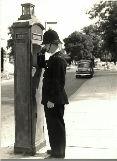 Communication - 1950's Police Box