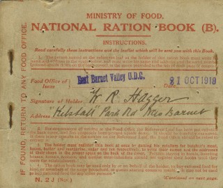 Food Ration Book | HALS Pamphlet Collection