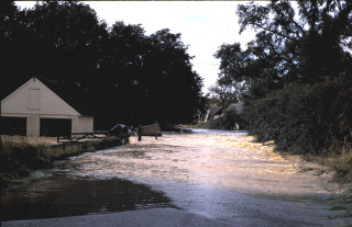 Flooding in the Lea Valley, 1968