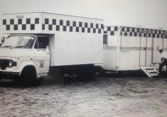 Ford Transit Mobile Police Station 1970's