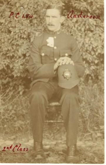 ANDERSON, Arthur Albert, Constable 284