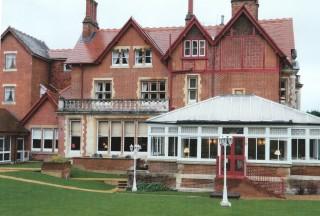 Rear of Pendley Manor 2014