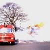 Amwell Crossroads lorry fire