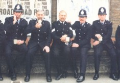 None for the Road. Royston Police 1990