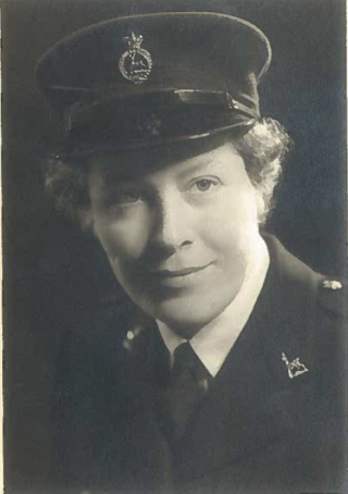 Margaret Quinn when young in service. | Mary Quinn
