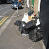 Only human - footpath obstruction at Ware
