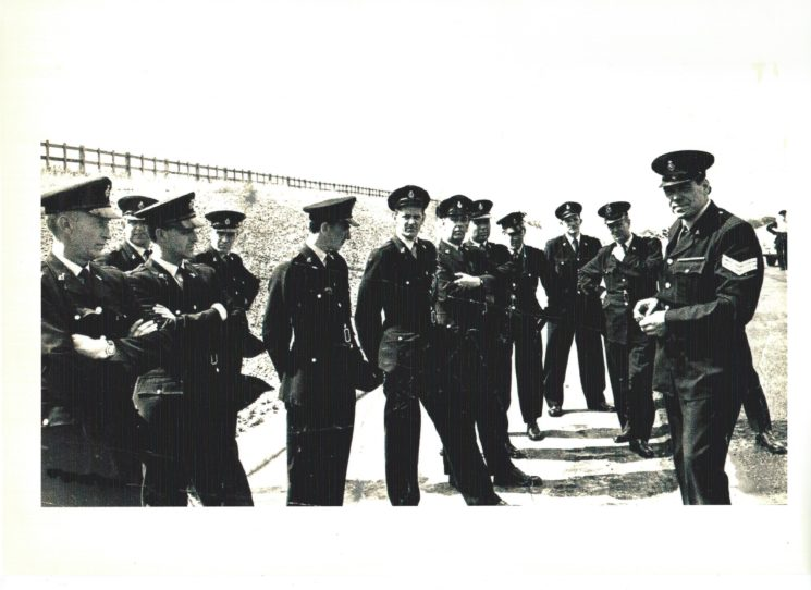 Motorway Training on the A1(M) c.1967