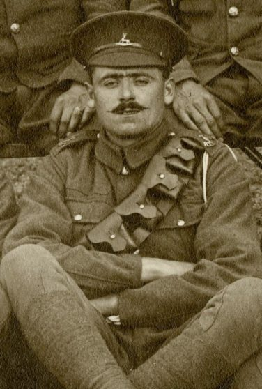 George Archer circa 1915 | Herts Police Historical Society