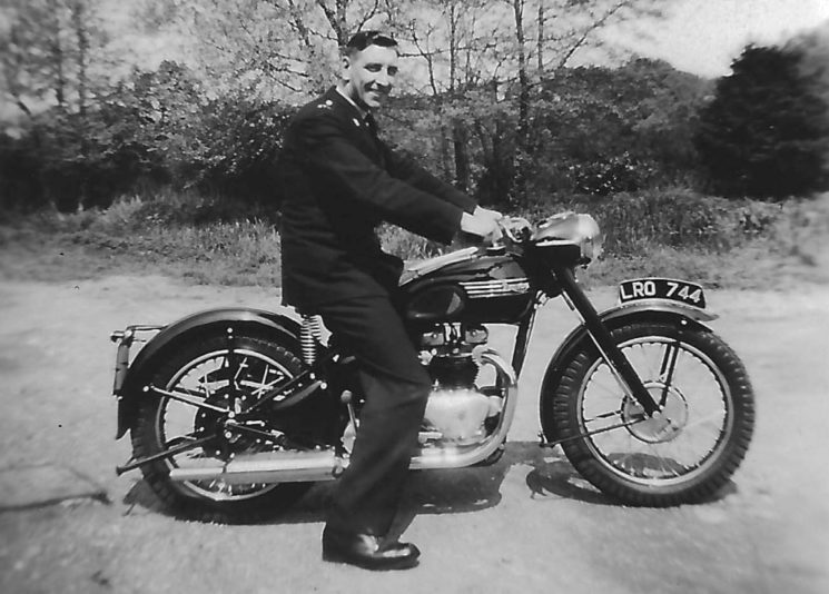 Triumph Twin motorcycles