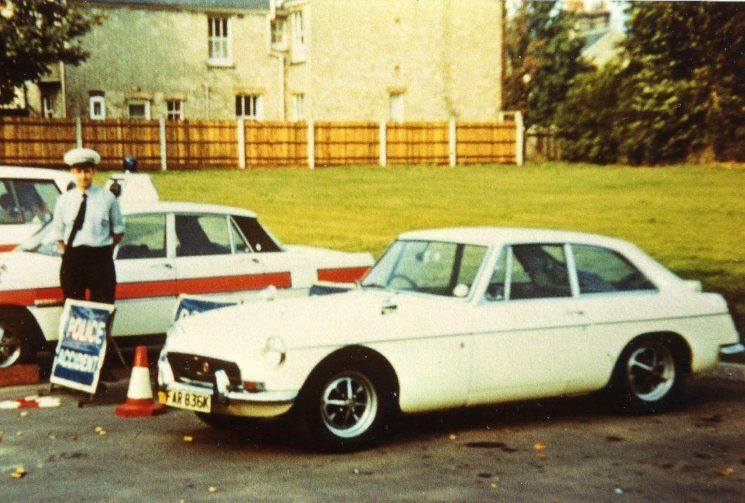 1972 MGB GT based at Hitchin