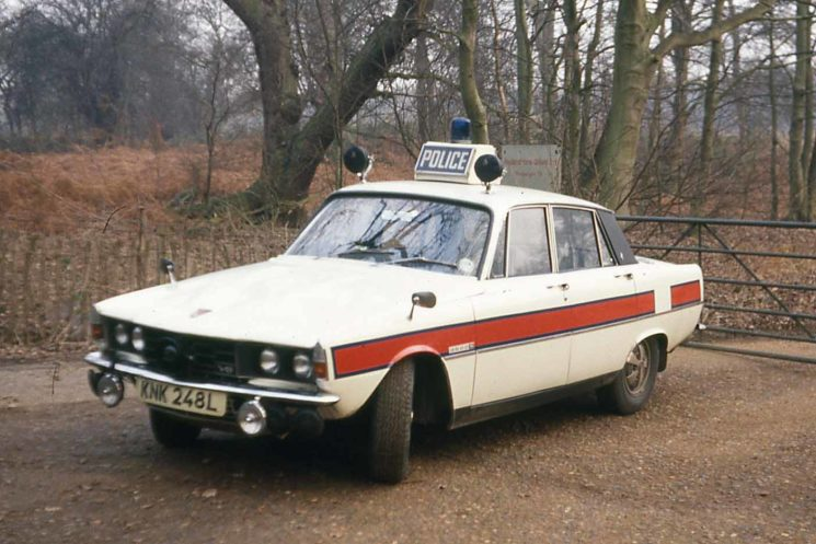 Rover P6 Traffic Cars