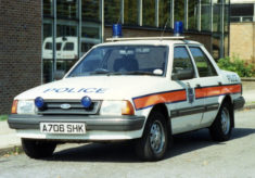 Early Accident Investigation Unit Cars