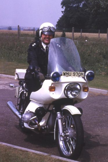 BMW Motorcycles for Traffic duties