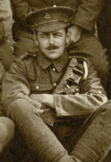 Archie William Corne 1915   Herts Police Historical Society