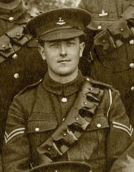 Frederick William Edward Perry 1915 | Herts Police Historical Society