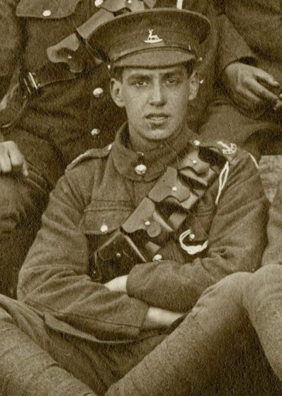 Oliver Victor Lake 1915 | Herts Police Historical Society