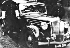 1946 Wolseley Patrol Car HJH 310