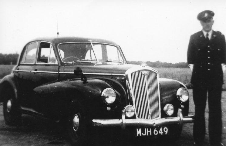 Wolseley 6/80 with PC 156 Eric Richardson