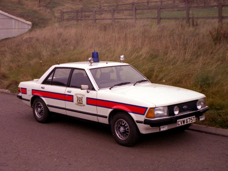 Ford Granada Mark II, CVW 675T.  One of the first issued to Northern Traffic Base