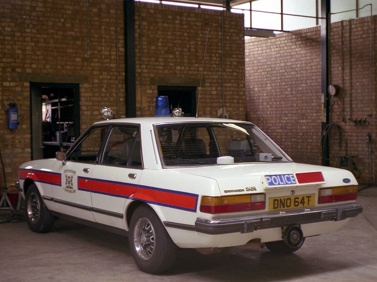 Ford Granada Mark II, DNO 64T, another early issue to Northern Traffic Base.