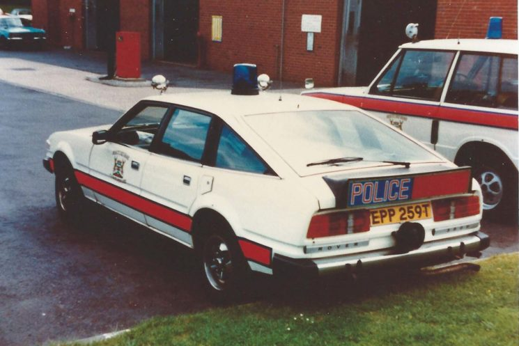 1978 Rover SD1 with the side stripe lower down.