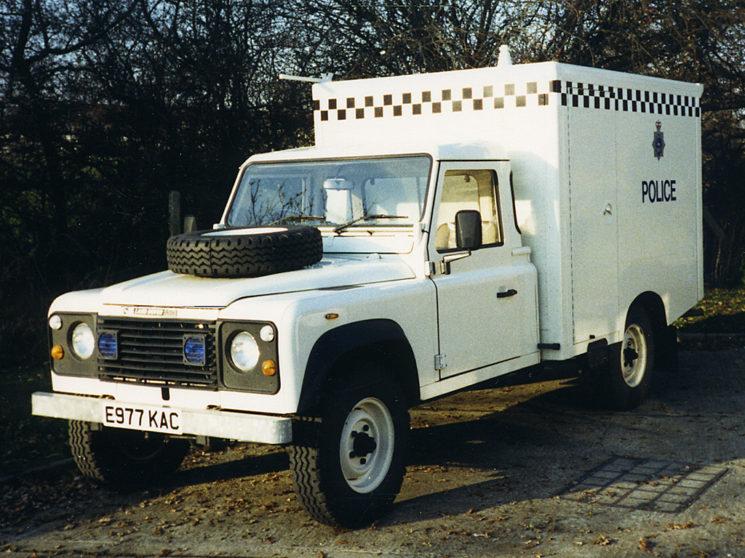 1988 Land Rover 127, E997 KAC