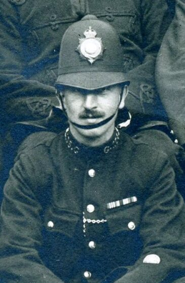 Albert Charles Killeen 1919 Luton Riot Duty | Herts Police Historical Society