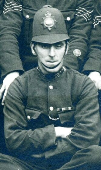 Arthur Ernest Hedges 1919 Luton Riot Duty | Herts Police Historical Society