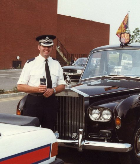 CVX 986X and the Royal Rolls Royce, 8/7/1982