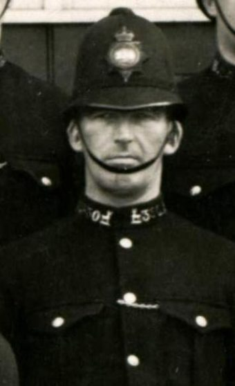 George Gerald Loder Crouch in 1933 at Hertford | Herts Police Historical Society