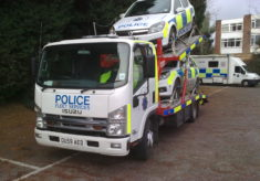 Isuzu Twin Deck Police Fleet Transporter - OU59AED