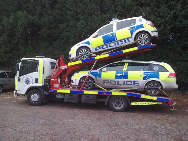 Isuzu Twin Deck Police Fleet Transporter - OU59AED | Paul Watts