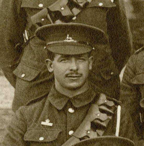 Walter John Thurley 1915 | Herts Police Historical Society