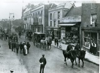 Escorting Prisoners From The Watford Riot 1902 | Herts Police Historical Society