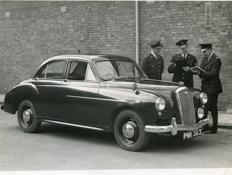 Wolseley FourFortyFour | Herts Police Historical  Society