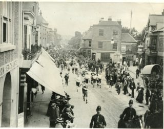 Watford Walking Race c. 1900 | Herts Police Historical Society