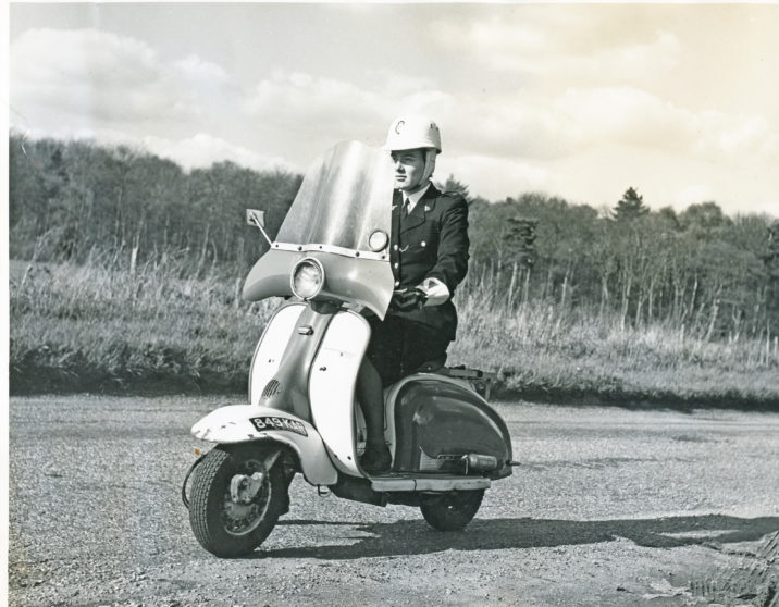 Lambretta Scooter 849KAR | Herts Police Historical Society