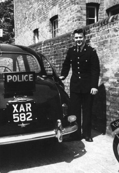 Ware Area Car, Morris Isis 6 cylinder, XAR 582 with Cadet Ivan Judd, c1956 | Ivan Judd